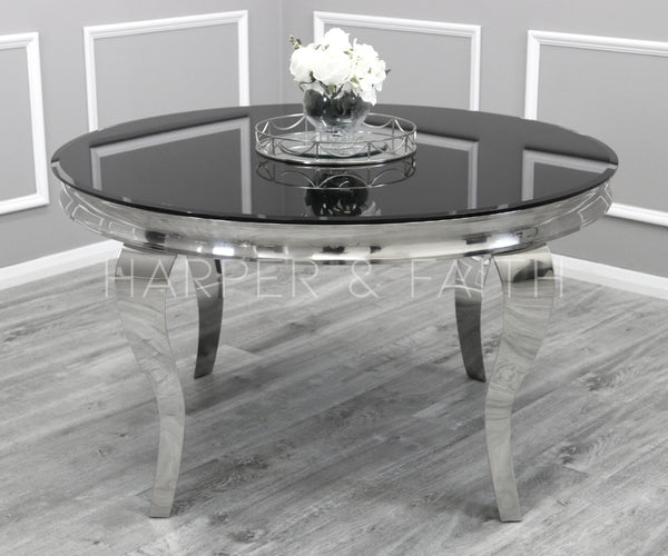 1.3m Round Louis Dining Table