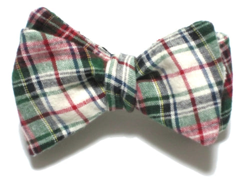 RUDOLPH CHRISTMAS<br>FLANNEL PLAID BEAU
