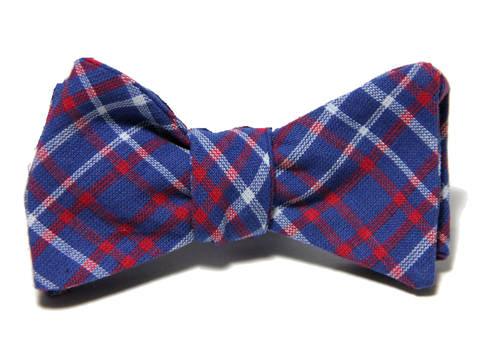 RED, WHITE, AND BLUE<br>PLAID BEAU