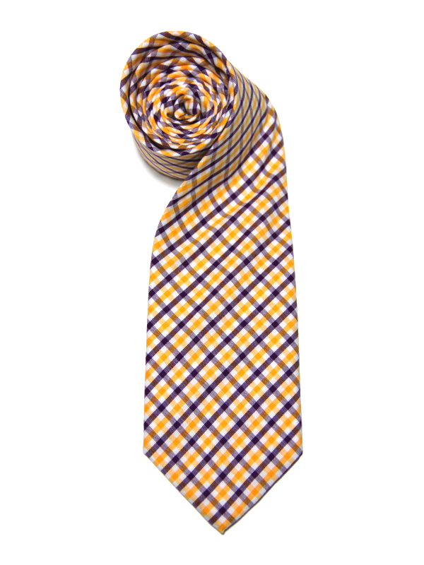 MICHAEL THOMAS<br>TATTERSALL NECKTIE