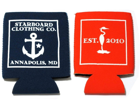 STARBOARD CLOTHING CO.<BR>NEOPRENE KOOZIE<br>[8 Colors]