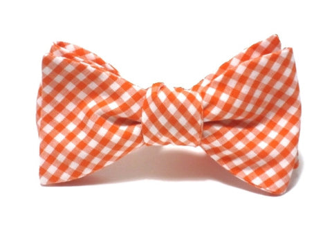ERDMANN ORANGE<br>GINGHAM BEAU