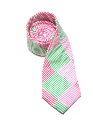 PALM BEACH<br>PATCHWORK NECKTIE