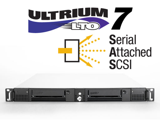 1U Rack-Mountable SAS LTO-7 Solutions