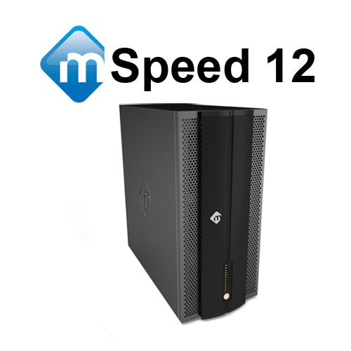 mSpeed 12-bay Thunderbolt 3 RAID - New Lower Pricing!