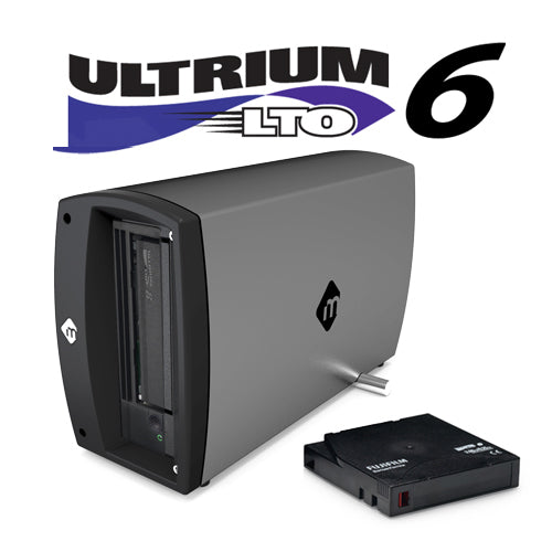 mTape LTO-6 Thunderbolt 3 Archiving Solution