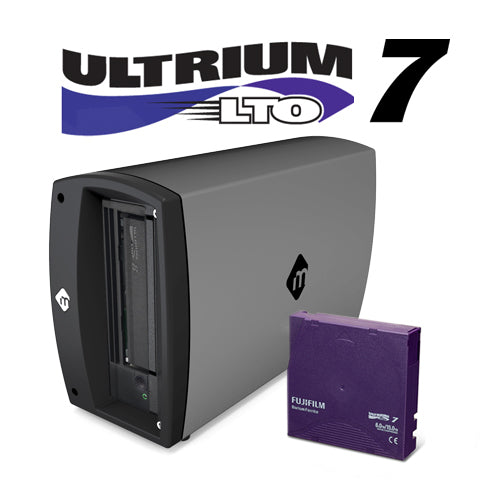 mTape LTO-7 Thunderbolt 3 Archiving Solution