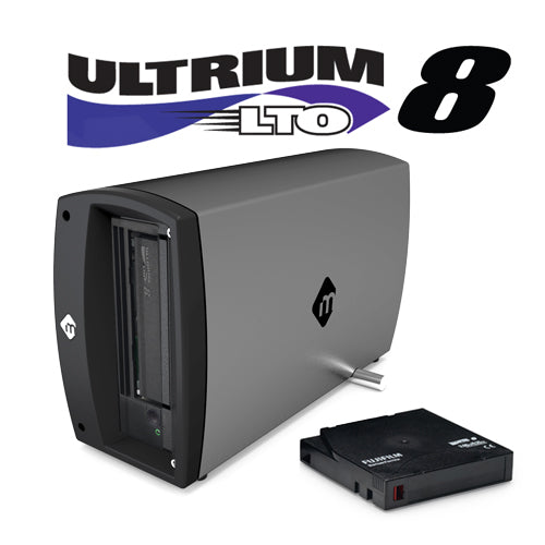 mTape LTO-8 Thunderbolt 3 Archiving Solution