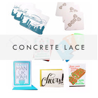 concrete lace