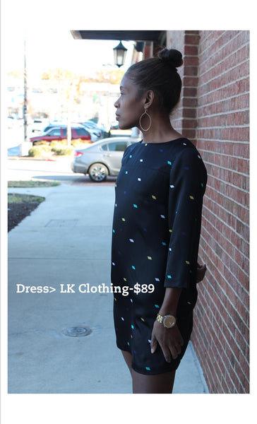 lk clothing dress, dressing for your budget in atlanta