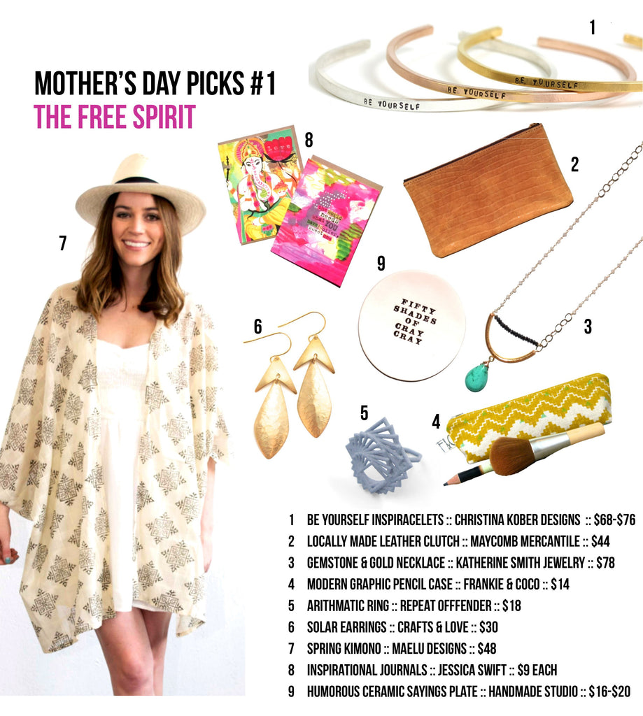The Free Spirit Mother's Day Gift Basket