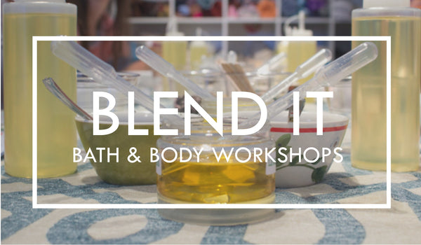 diy bath and body classes, bath and body workshops atlanta, learn to make soap, learn to make body butters