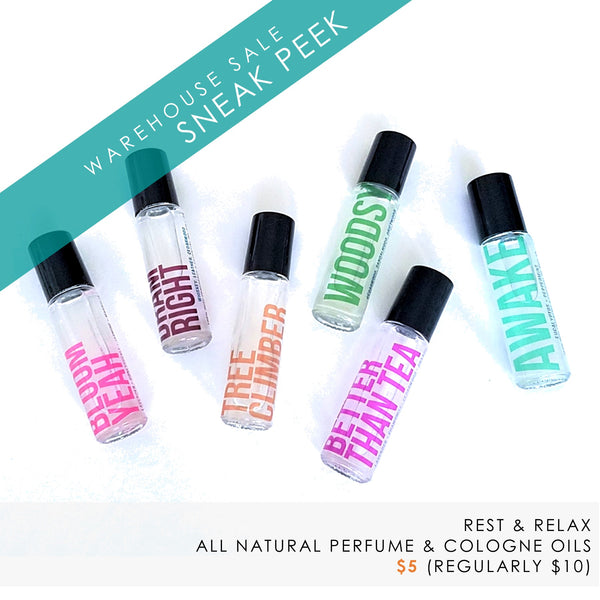 perfume and cologne oils by rest & relax