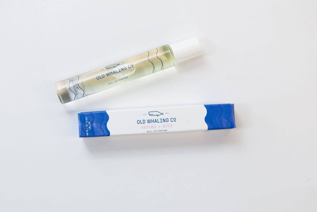 Indigo + Rice Roll-On Perfume