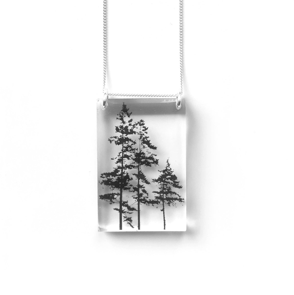 Black Drop Designs - Tall Forest Necklace