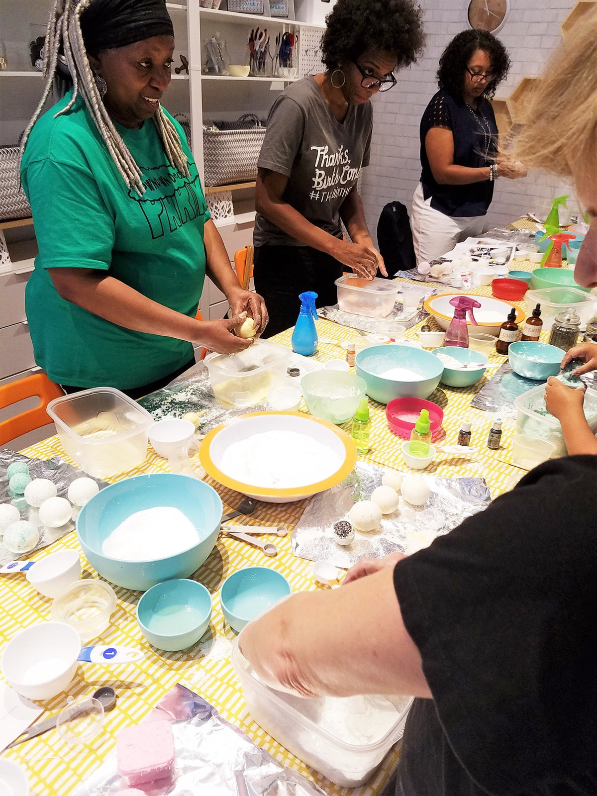 Bath Bombs Workshop