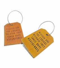 Luggage Tag - Blessed Are the Curious