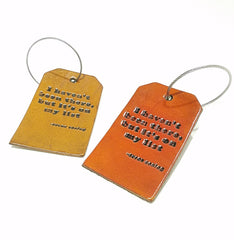 Luggage Tag - I Haven't Been There, But It's On My List