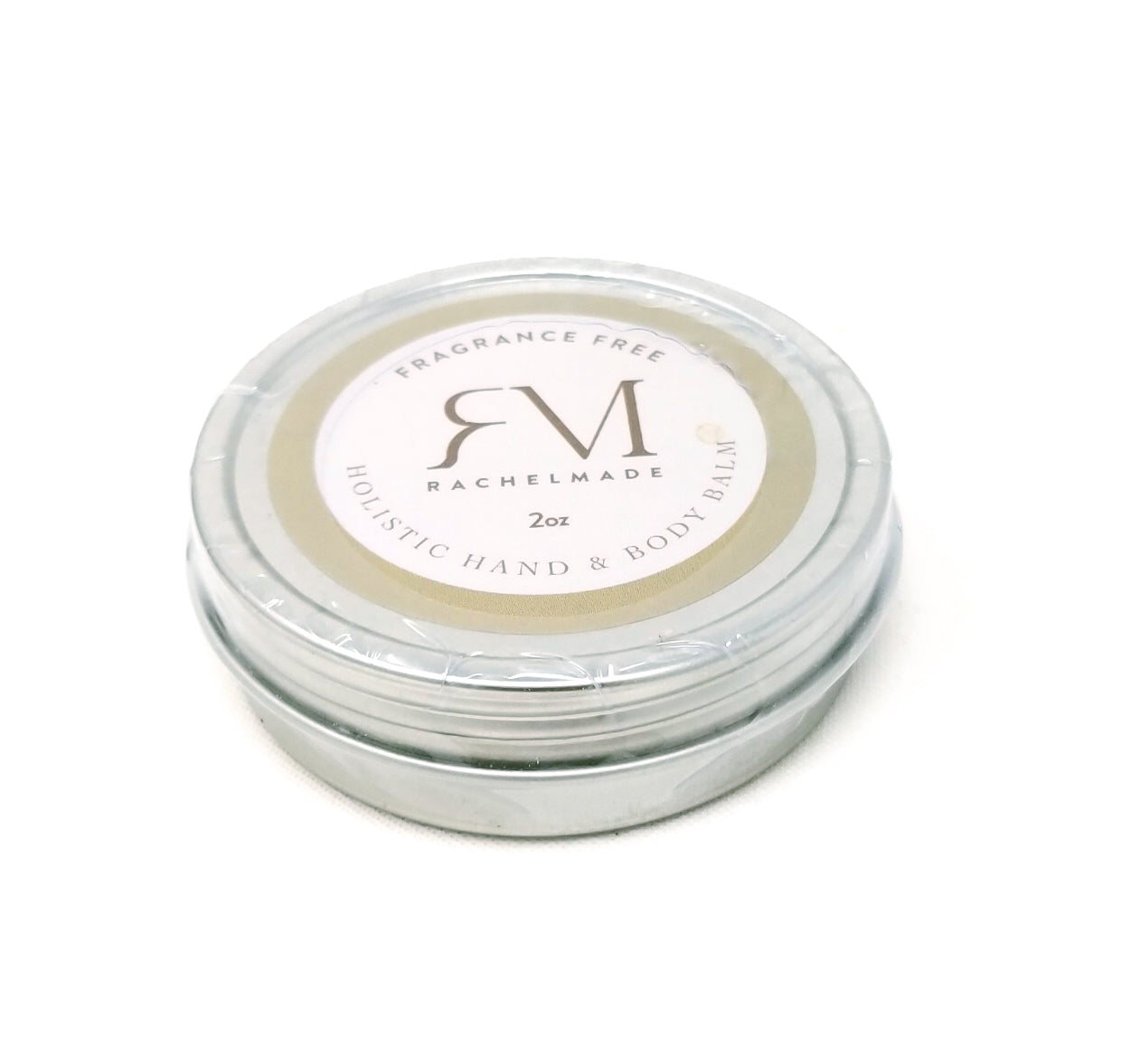 "Fragrance Free ""Basic""  Holistic Hand & Body Balm"