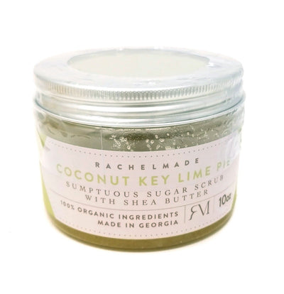 Coconut Key Lime Pie Sumptuous Sugar Scrub with Shea Butter