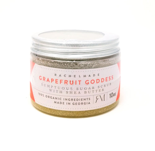 Grapefruit Goddess Sumptuous Sugar Scrub with Shea Butter