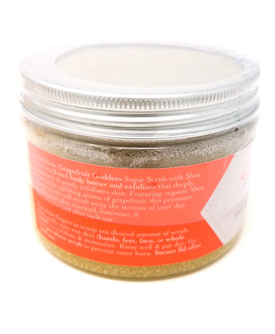 Clary Sage & Lemongrass Sumptuous Sugar Scrub with Shea Butter Travel Packet