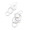 bubble earrings - sterling