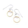 Mixed mini interlocking earrings