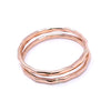 Mini Stacking Rings - Rose Gold