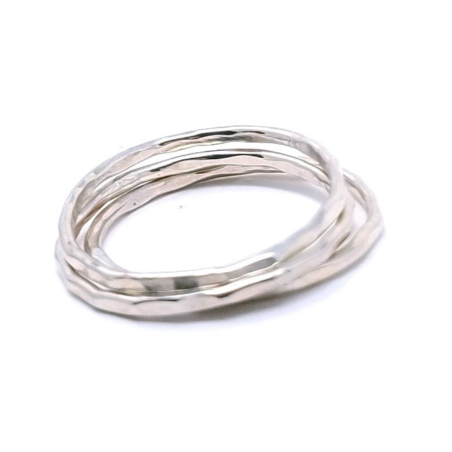 Mini Stacking Rings - Sterling Silver