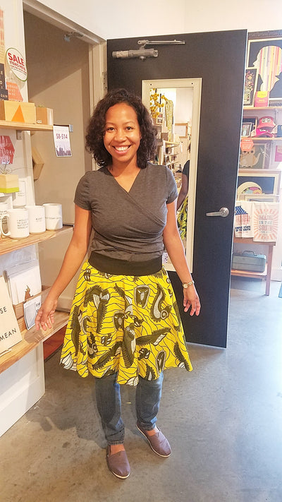 Sewing 102: Simple Circle Skirt