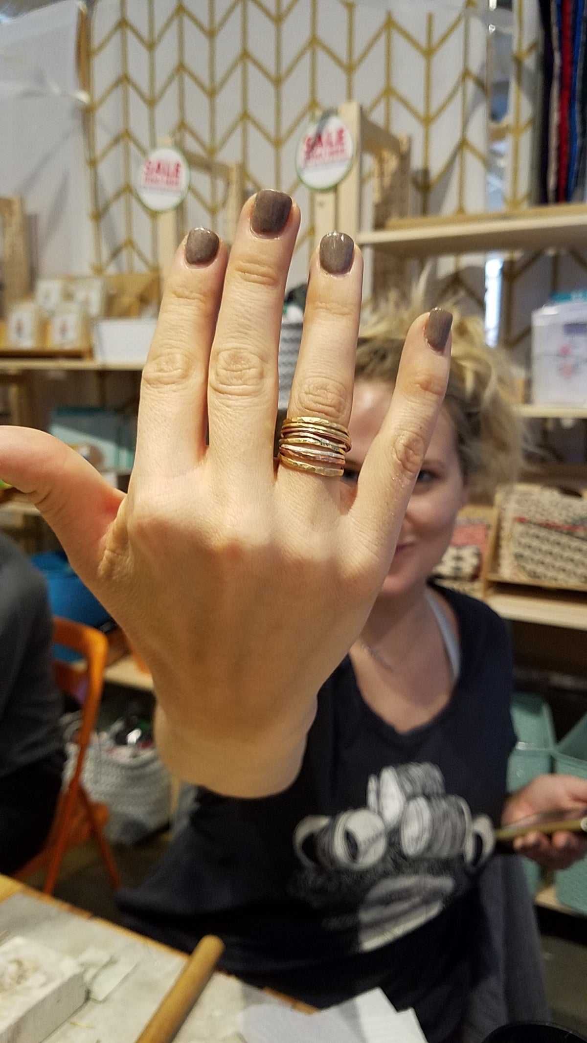 Jewelry 101: Fabricated Non-Soldered Stacking Rings