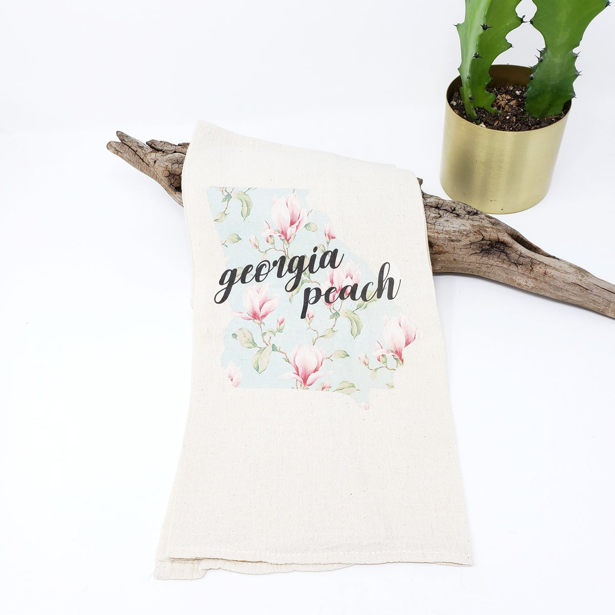 Tea Towel - Georgia Peach