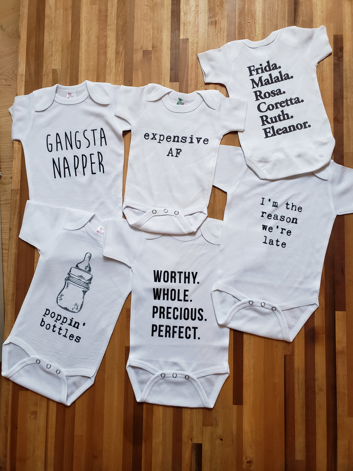 World Changer Baby Onesie