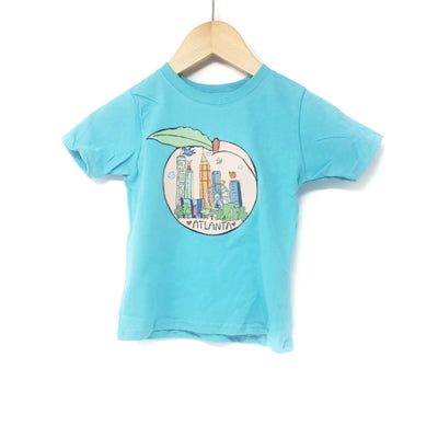 Atlanta Peach Toddler Tee