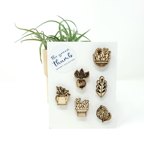 Magnet Set - The Green Thumb
