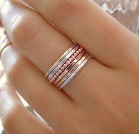 Jewelry 101: Simple Soldering - Stacking Rings