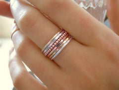 Simple Soldering :: Stacking Rings