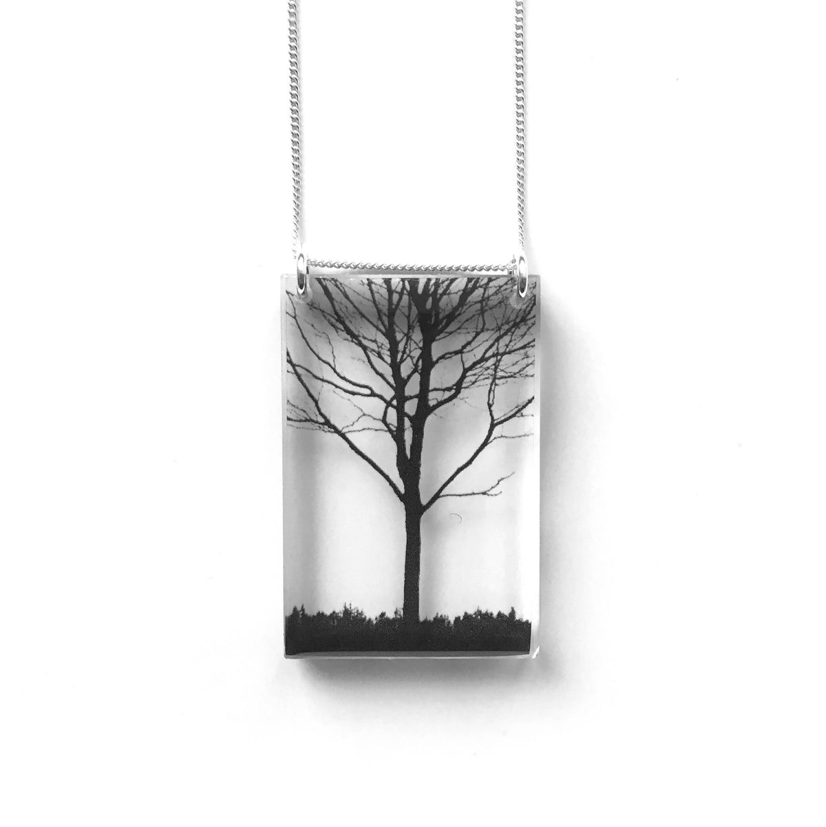 Black Drop Designs - Tall City Tree Necklace