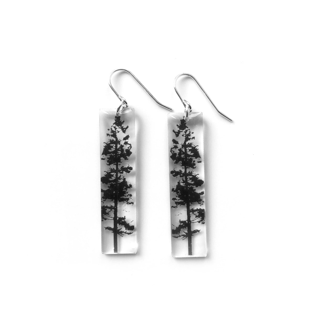 Black Drop Designs - Tall Forest Earrings