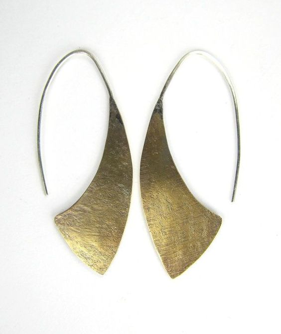 Simple Soldering 101 :: Textured Dangle Earrings