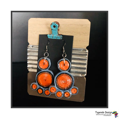 Quilled Paper Earrings (Assorted color combinations)