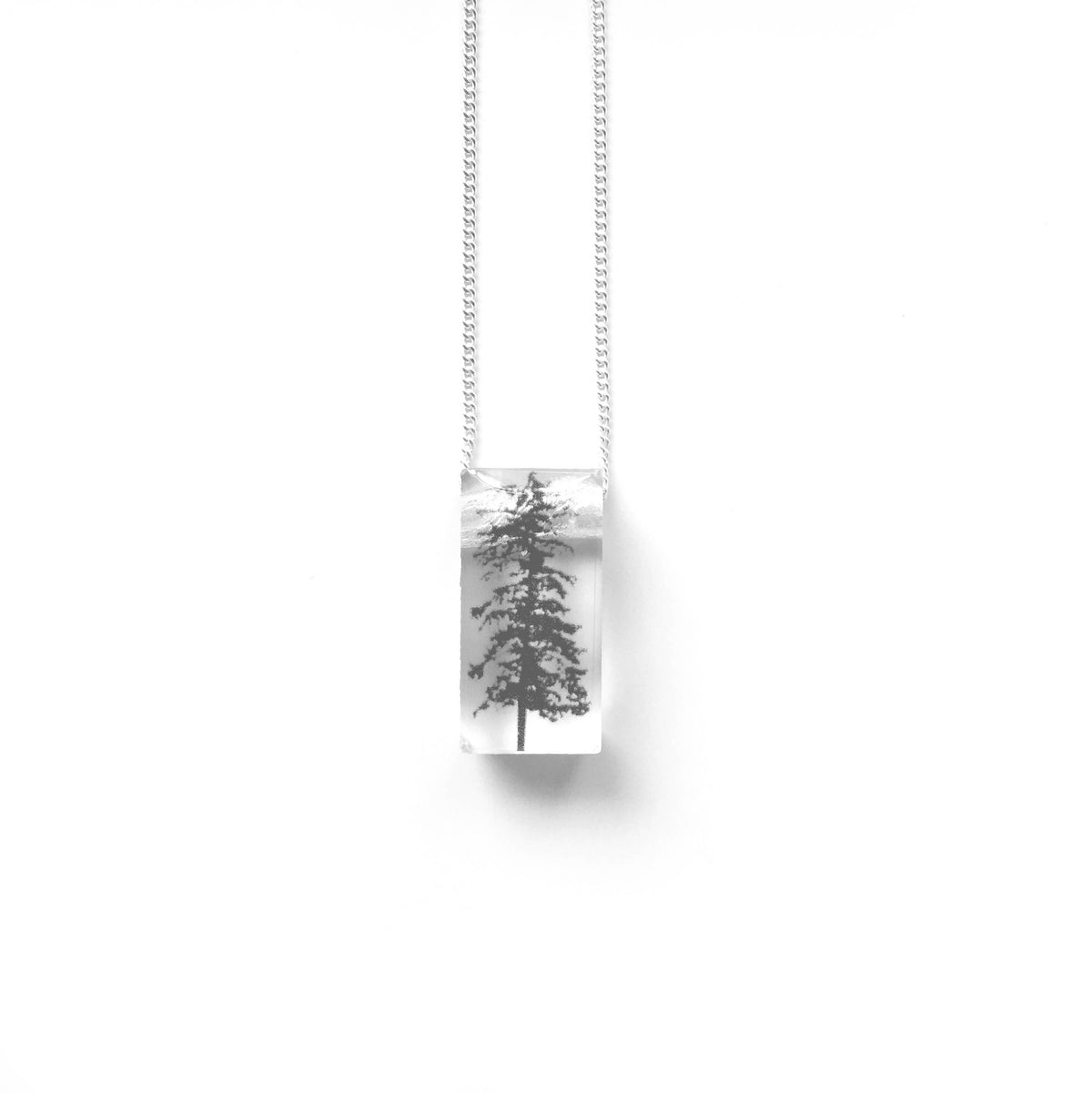 Black Drop Designs - Tiny Forest Necklace