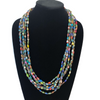 Kuwooma Beaded Mulstistrand Necklace (Multicolor)
