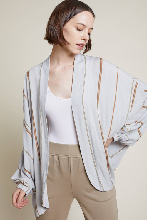 Cirrus Striped Gauze Jacket