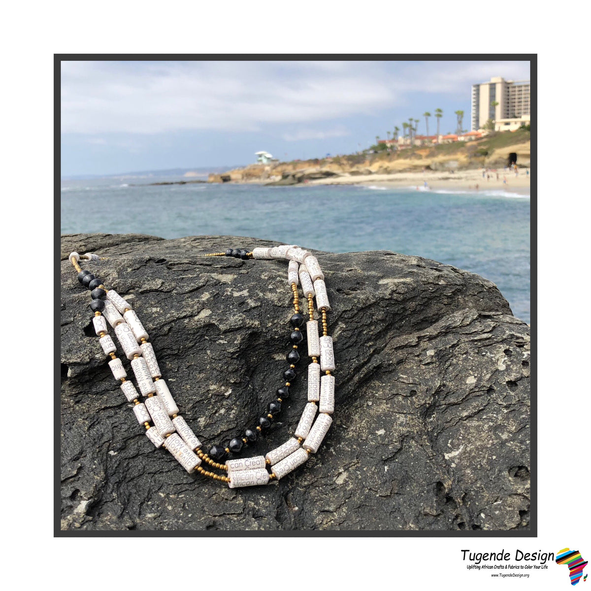 Otegeera Necklace set (Available in red and black)