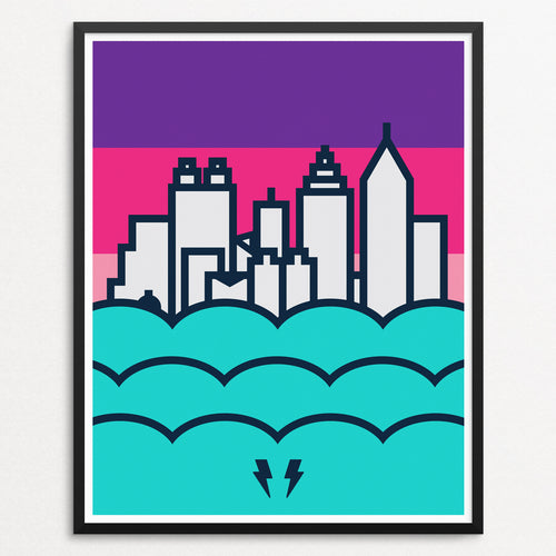 Skyline Series - Atlanta (8x10)