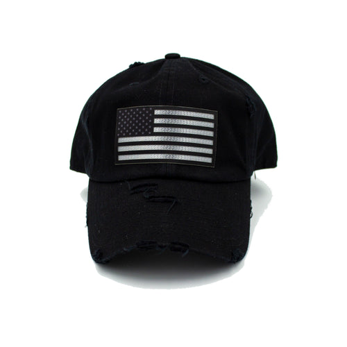 American Flag - Black Hat