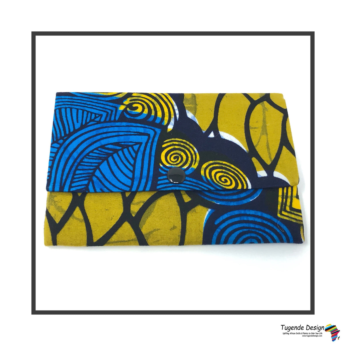 Kitenge Fabric Wallet (medium)