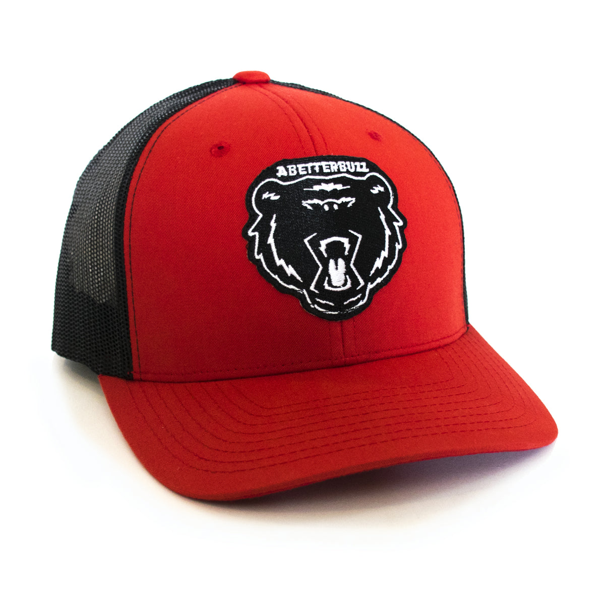 Bolt Bear Cap - Red